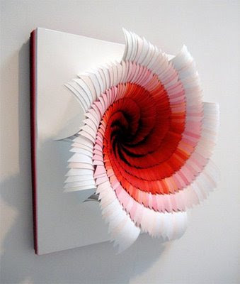 two cents layered paper art