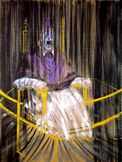 Francis Bacon's grotesque Pope