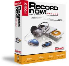 sonic recordnow deluxe