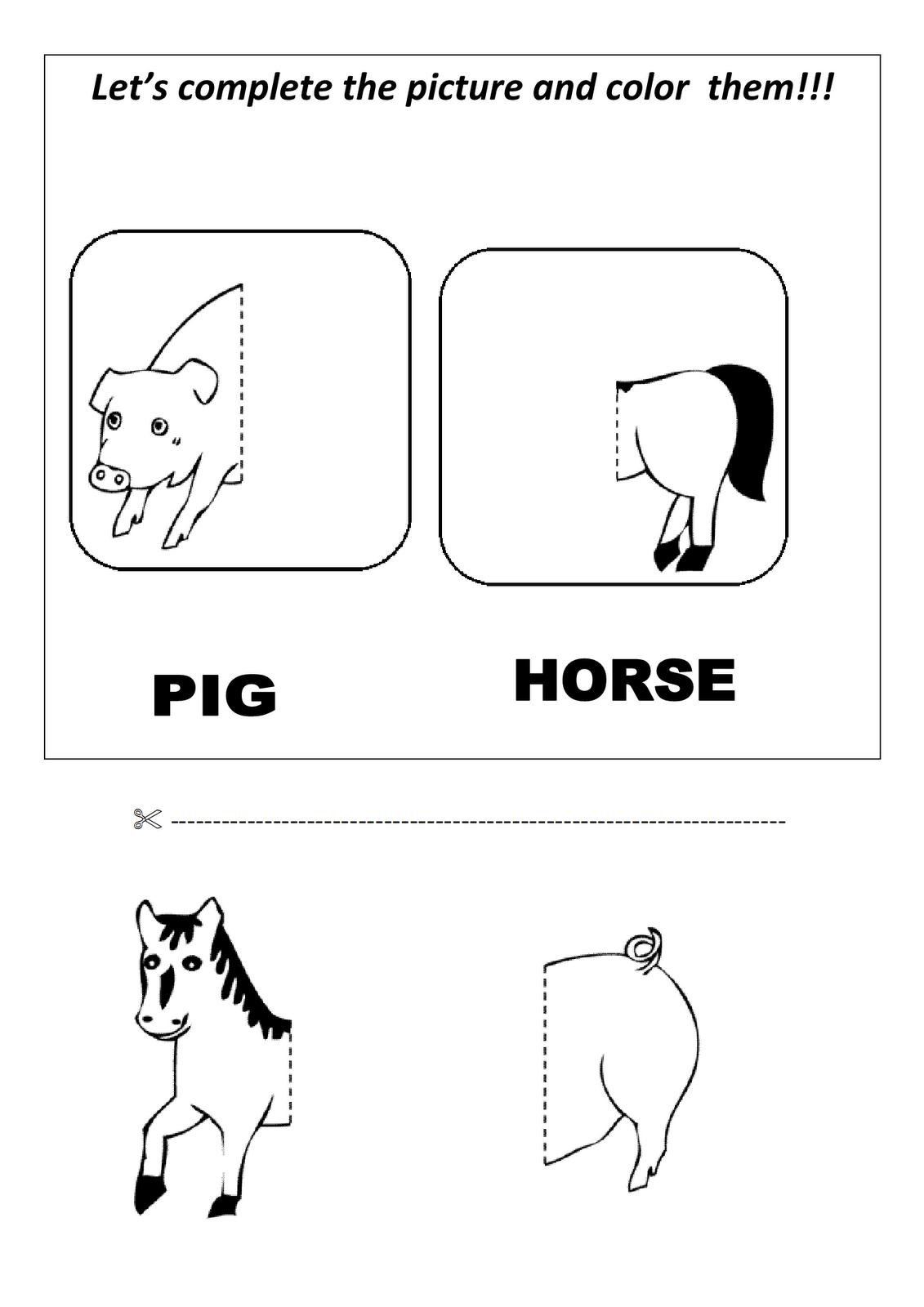 My English Classes Kids Activity