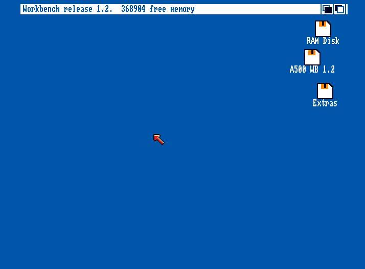 Amiga 500 cf card