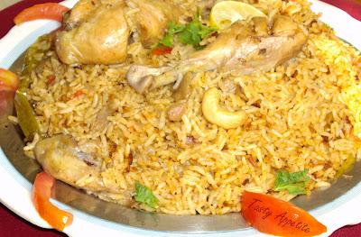 Spicy Chicken Biryani Recipe Nawabi Chicken Biryani