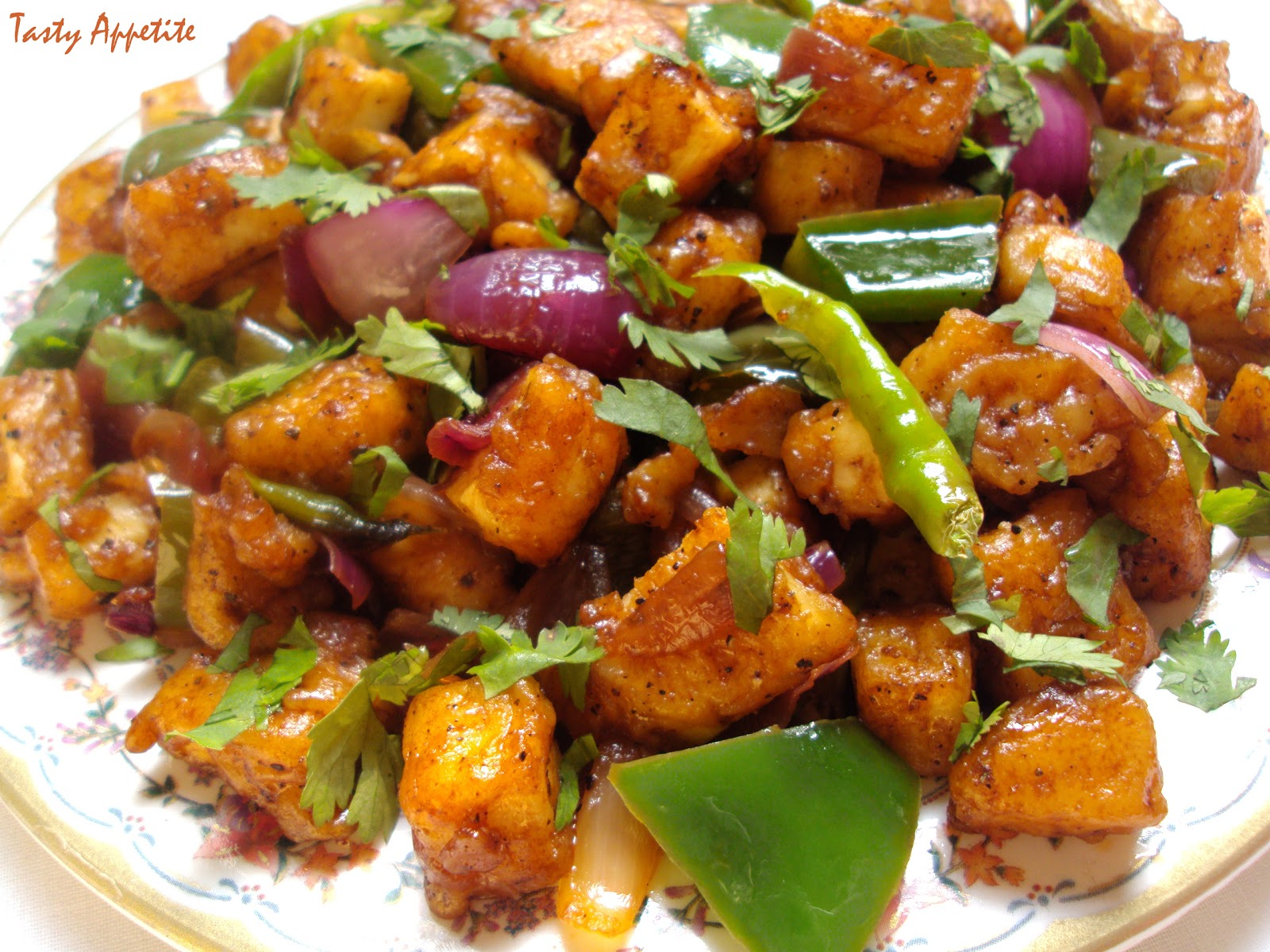 Chilly Paneer Dry / Merry Christmas..!!!