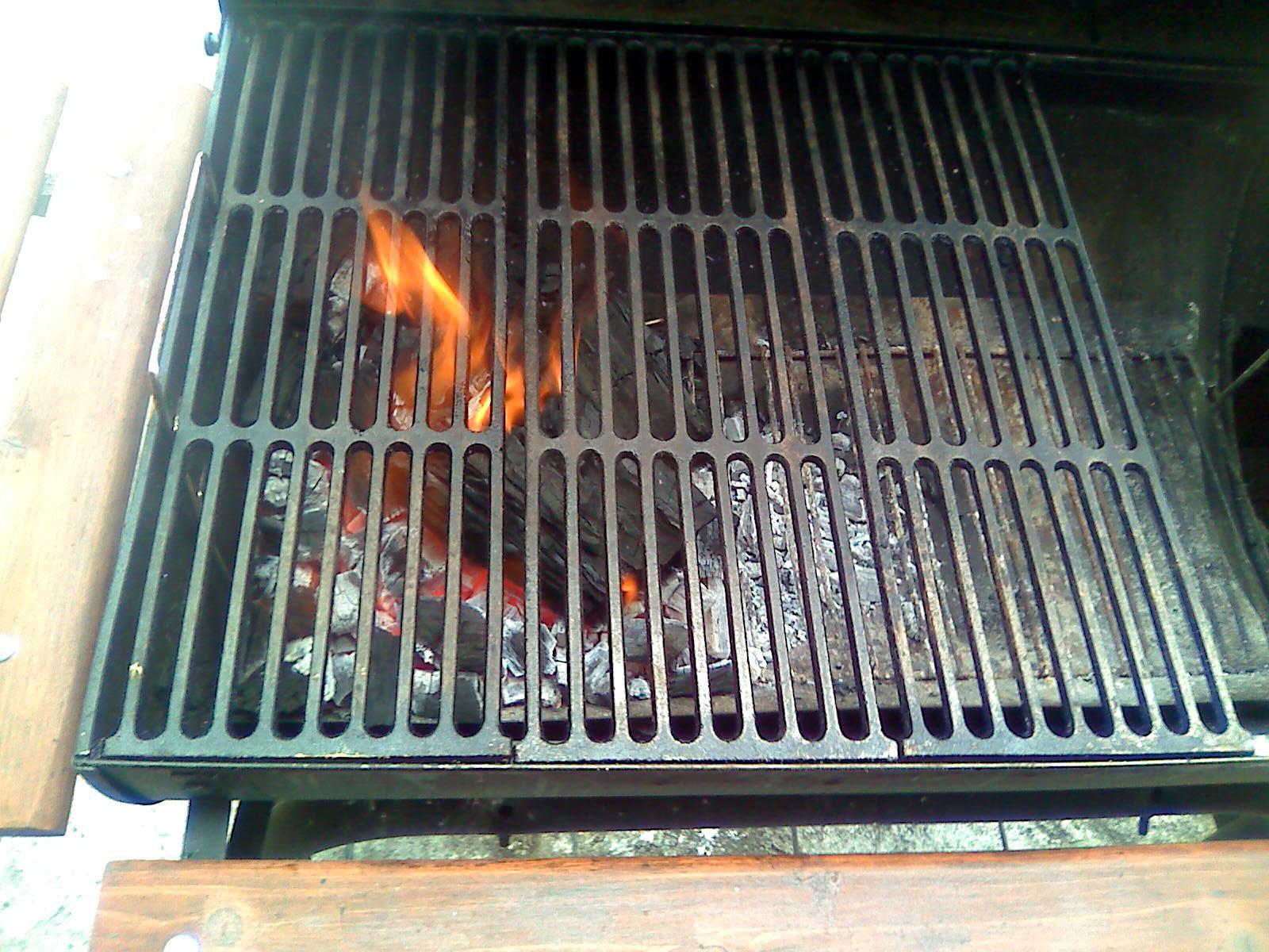 Costillas asadas al carbon - Parrillas para asar carne ...