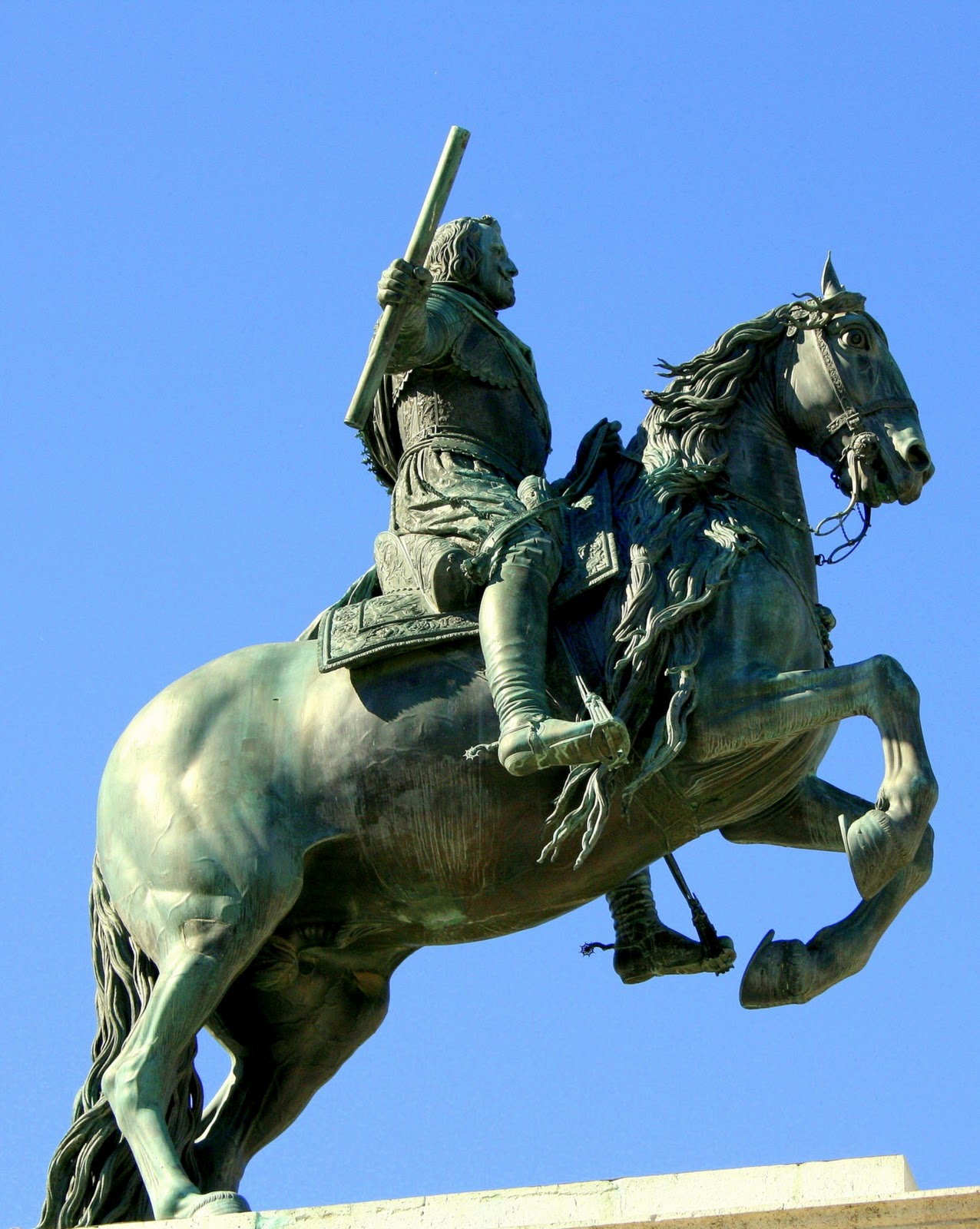 Resultado de imagen de felipe iv a caballo