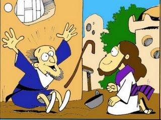 Jesus cura homem cego de nascenccedila - 4 3