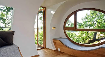 Rounded Style For A Window Is An Unique Design On This Best We Can See Modern Interior With Natural