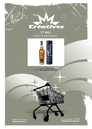 Créatives 2016 : concours des meilleures créations publicitaires, packaging Distillerie de Savanna