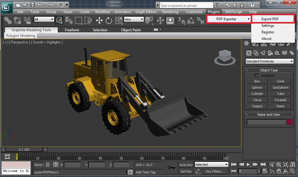 3d Pdf For 3ds Max