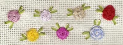 Taller Creativo Las Rosas En Bordado Con Liston