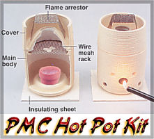 Hot Pot - Tiny Metal Kiln that takes the guesswork out of ... |Pmc Clay Hot Pot