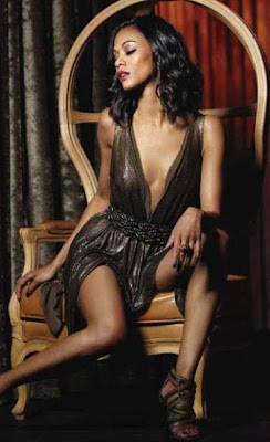 Zoe Saldana Esquire Magazine Photos