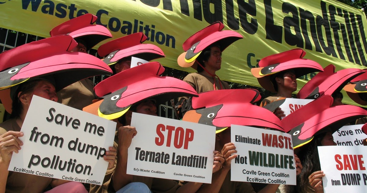 EcoWaste Coalition: Groups urged to protect, not to dump in