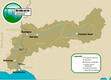 rio guadiana mapa Benvindo (a) a geocastemaia: Rio Guadiana   um percurso cheio (s  rio guadiana mapa