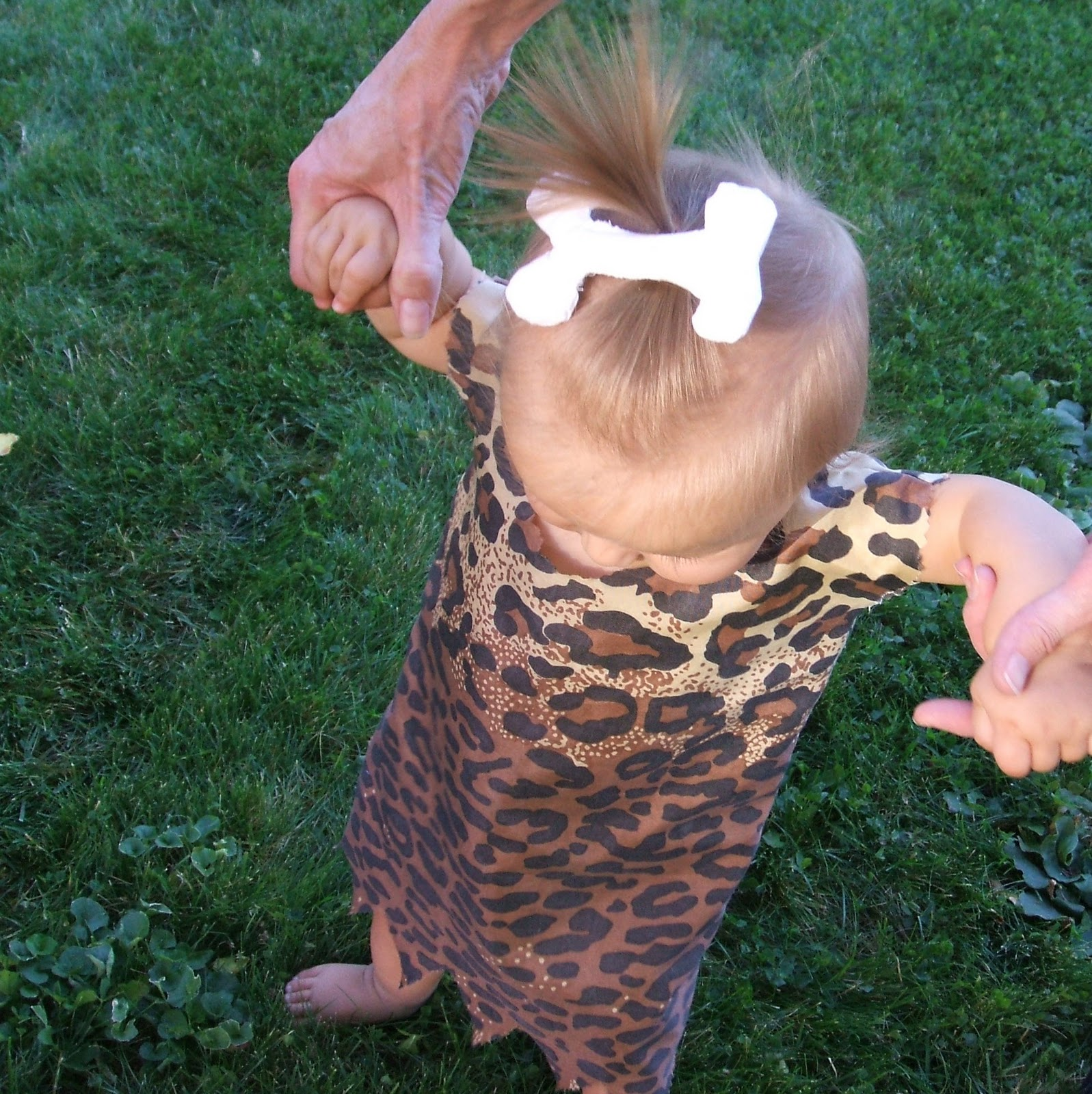 Pebbles Flintstone Costume Tutorial K A Boo Pages Patterns Fabric More