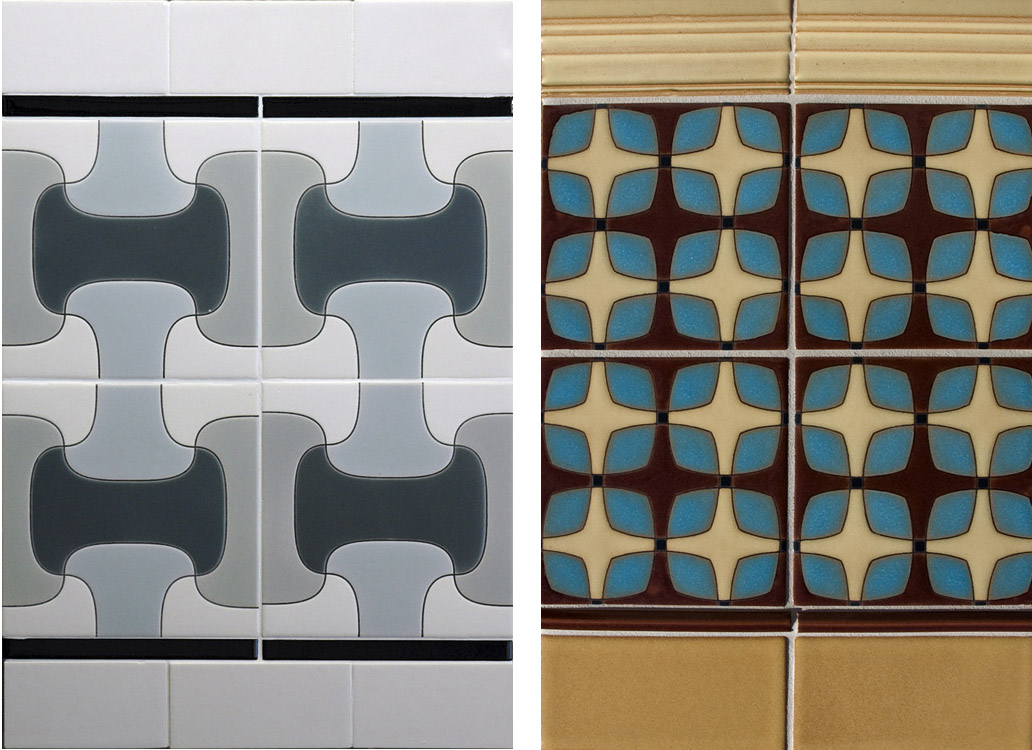 Mission Tile West Revival 60 S Available In Custom Color Combinations