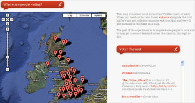 Maps Mania: Real-Time UK Elections Map
