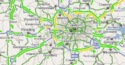 Map Of England Google Maps.Maps Mania Traffic Added To Google Maps England