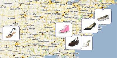 Maps Mania: Real-Time Shopping on Google Maps on map of akron ohio, bing akron ohio, flickr akron ohio, google map akron oh, city ward map akron ohio, facebook akron ohio, mapquest akron ohio, canton ohio, bret taylor akron ohio, google map cincinnati ohio, google map zanesville ohio, weather akron ohio,