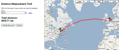Google Maps Mania: Measuring Distance with Google Maps