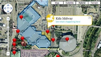 Maps Mania Calgary Stampede On Google Maps Updated