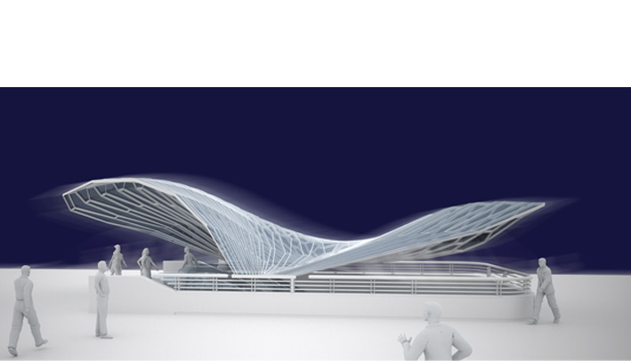 Typs Roof Design For The Underground Line In Torino