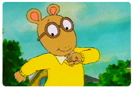 Arthur, everyone's favourite TV aardvark (Credit:Wikipedia)