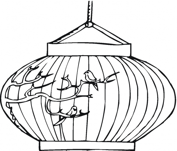 Chinese new year coloring pages chinese new year lantern for Chinese new year lantern template printable