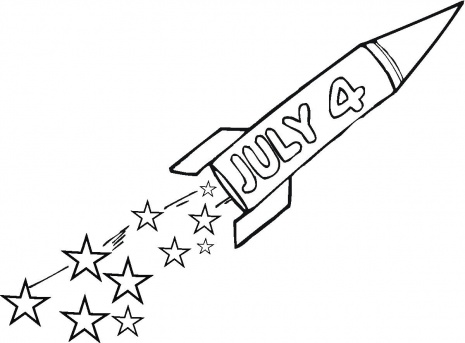 American Flag Heart Coloring Page Copyntable Pages Free 4th Of ... | 343x465