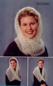 Кстати, вязать этот шарф без начала и без конца лучше всего простой...
