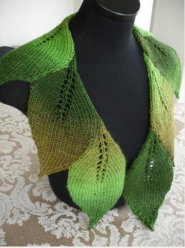 Интиресная идея для шарфа.  Прочитать целикомВ.