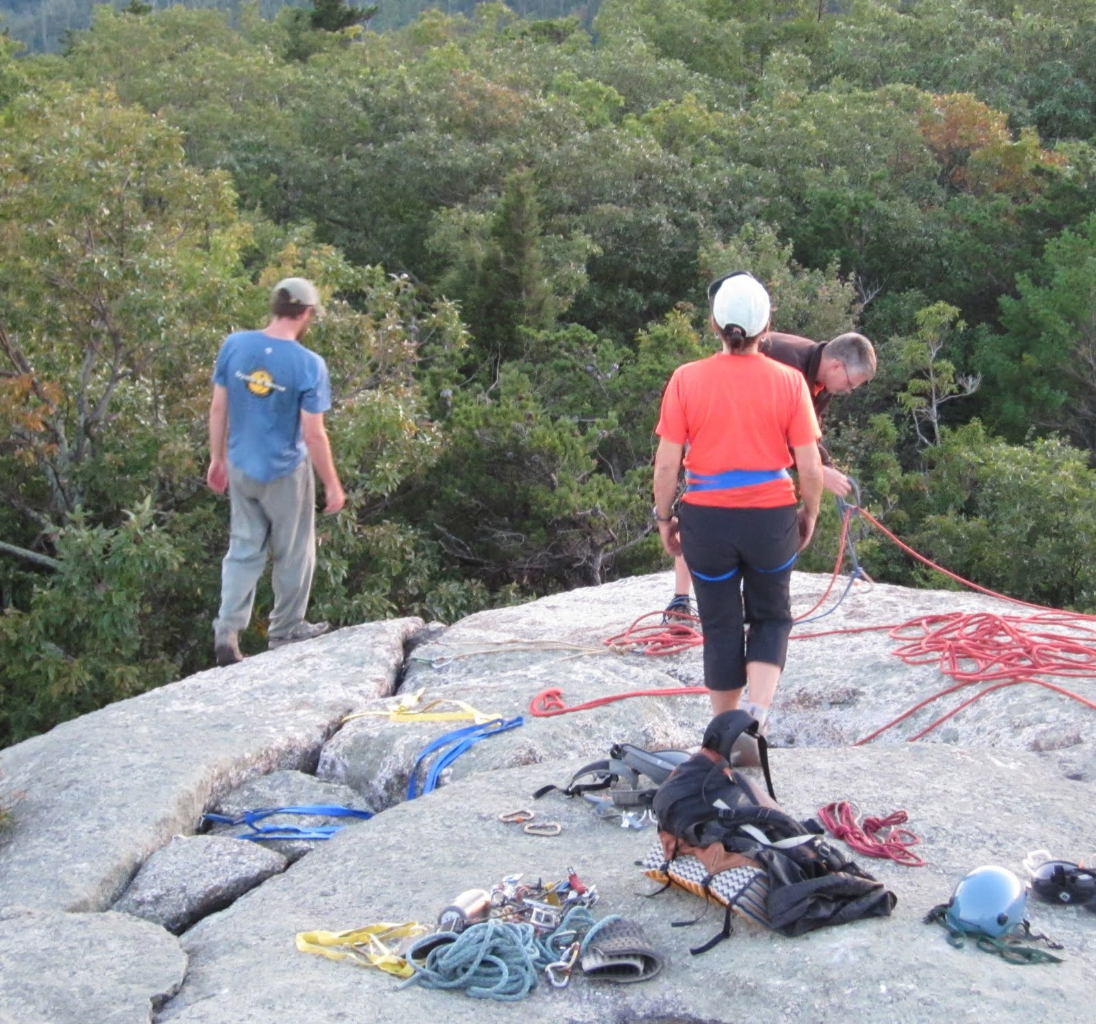 Old Rag Mountain Hikes/Patrols By RSL: Saturday September