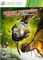 The Earth Defense Force, Insect Armageddon, xbox, game, box, art