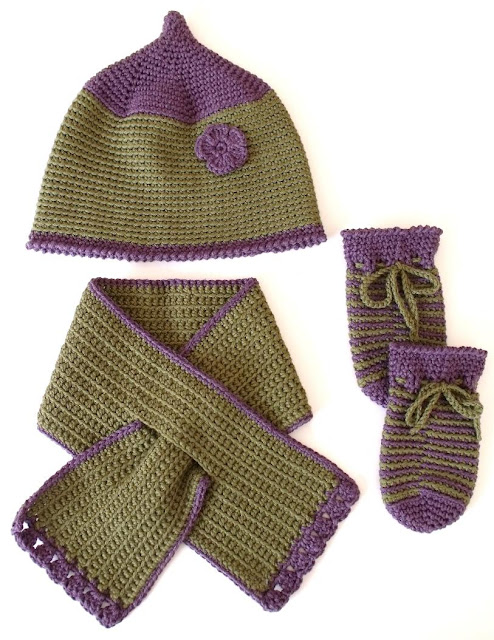crochet patterns, keyhole, how to crochet, toddlers, child, hats, scarf, mittens,
