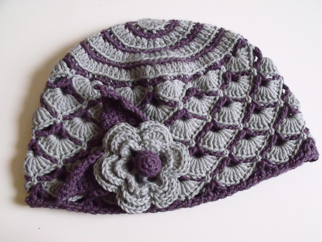 crochet hats vintage flapper