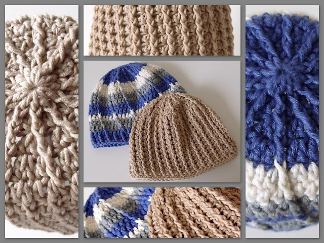 free crochet patterns, how to crochet, baby hats, beanies,