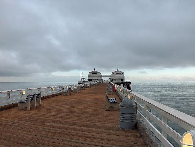 Malibu Pier in Los Angeles