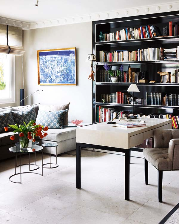 Sophisticated Home With Asian Tone: Delight By Design: Sleek + Sophisticated {home Office}