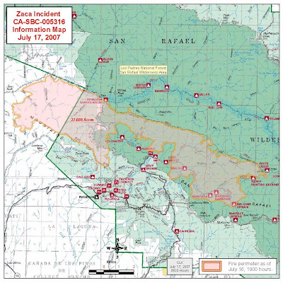 Cfn California Fire News Cal Fire News Inciweb Update Zaca