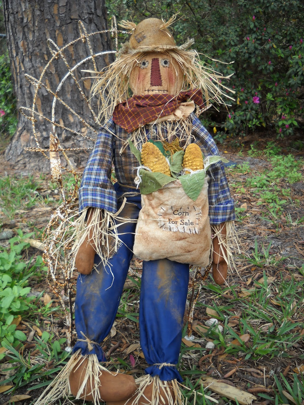 The Olde Country Cupboard New Scarecrow Pattern Ready