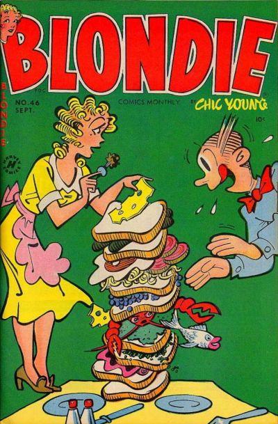 Rip Jagger's Dojo: Dagwood Eats!
