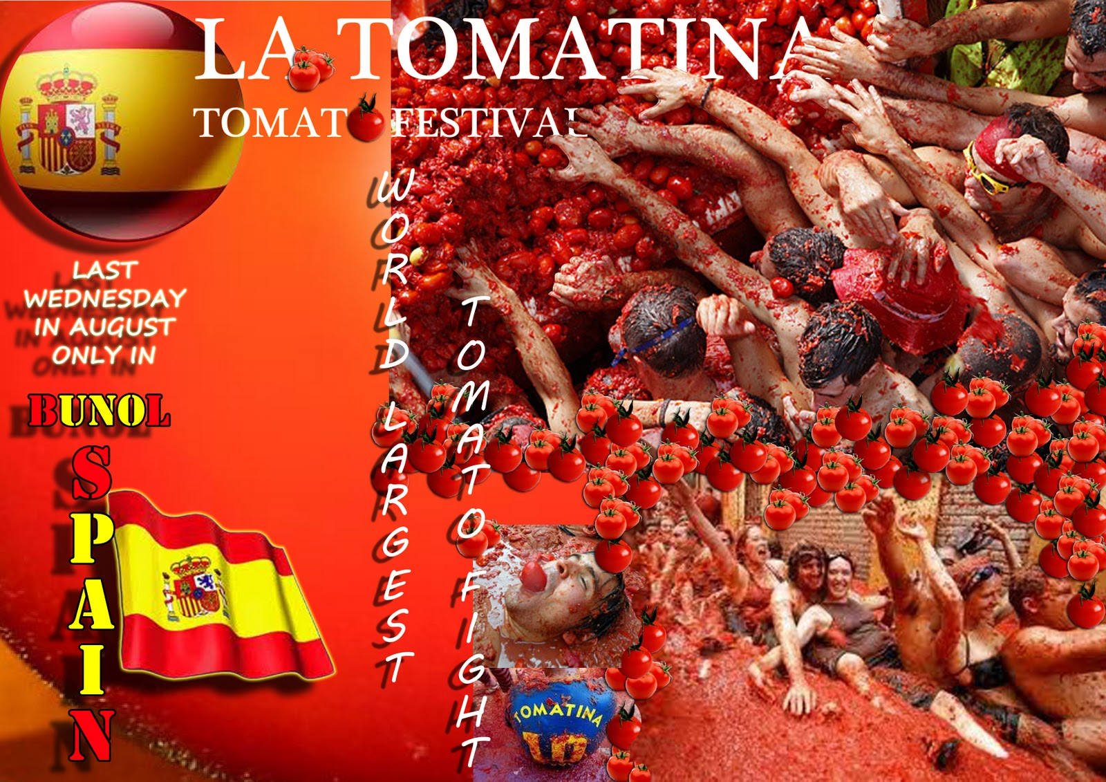 Images About La Tomatina