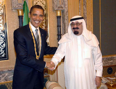 Photo Credit: SaudiEmbassy.net, of US Pres Obama with King Abdullah