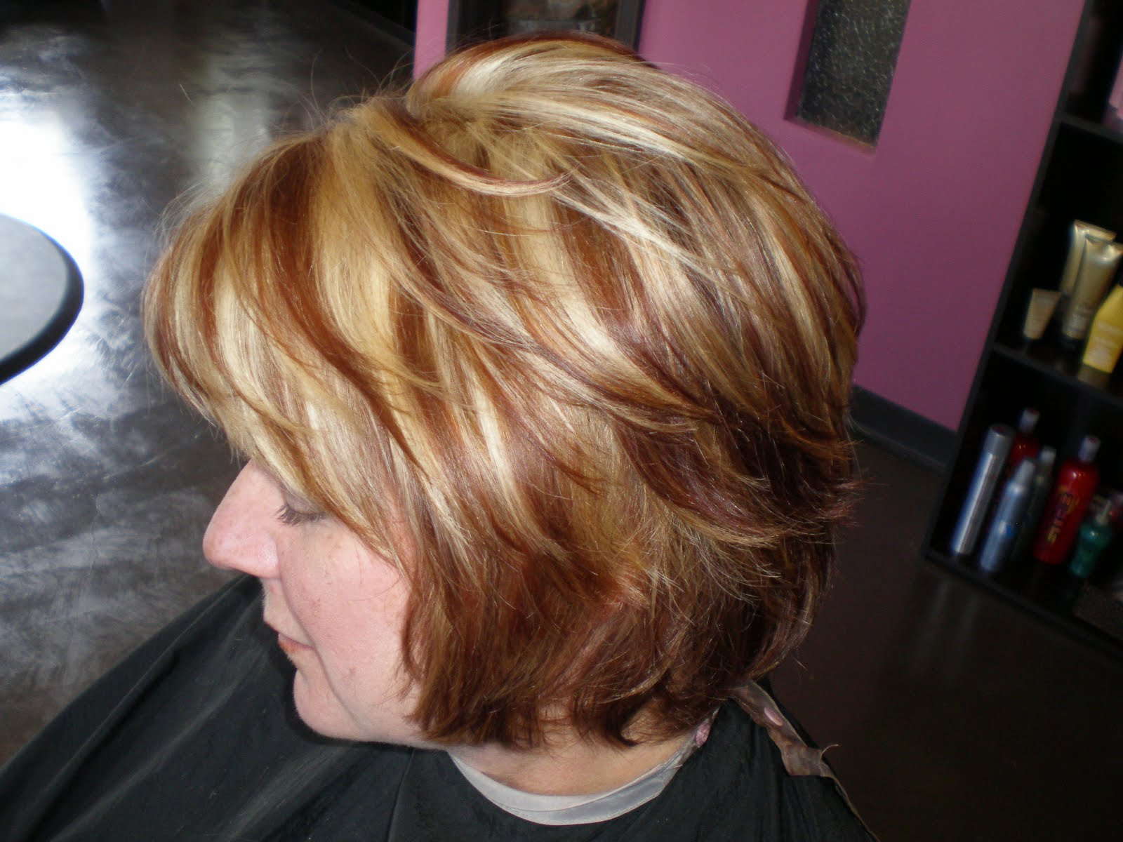 Katelyn Kearns May 22nd Auburn With Blonde Highlights