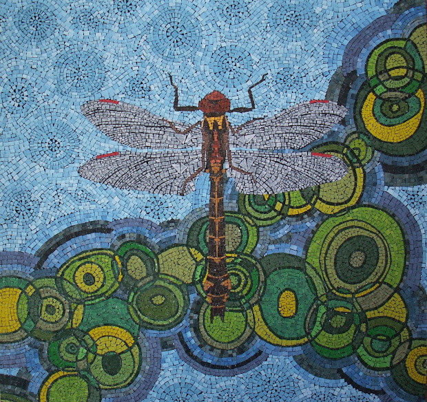 "Magazines Apple Tree"" Paper Mosaic Artist"