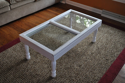 - Guest Project: Make An Old Window Into A Coffee Table!