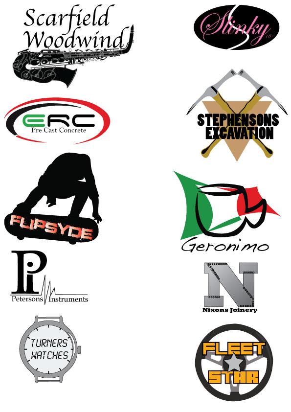 Chris  design bl...N Company Logos