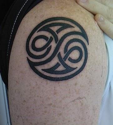 immortal tattoo tribal ying yang tattoo. Black Bedroom Furniture Sets. Home Design Ideas