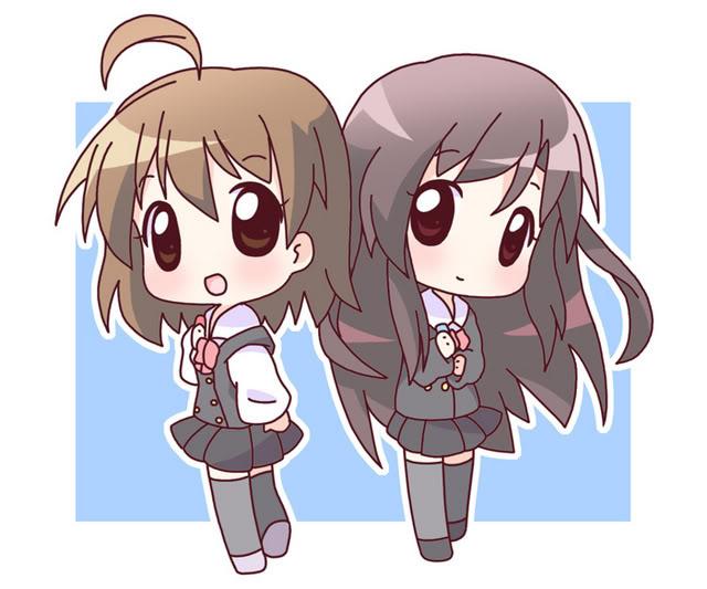 Fivipedoy: Cute Anime Best Friends
