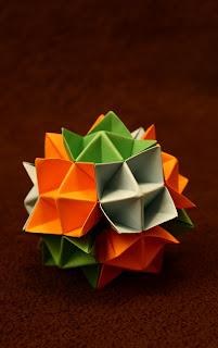 Modular Origami Ball Phizz